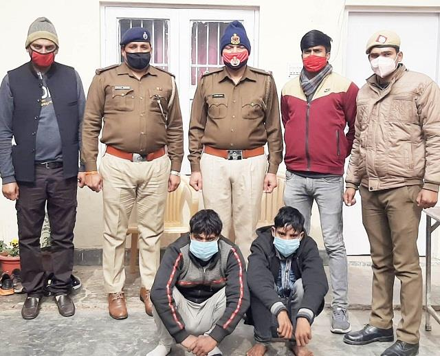 two accused of gang raping a minor girl arrested