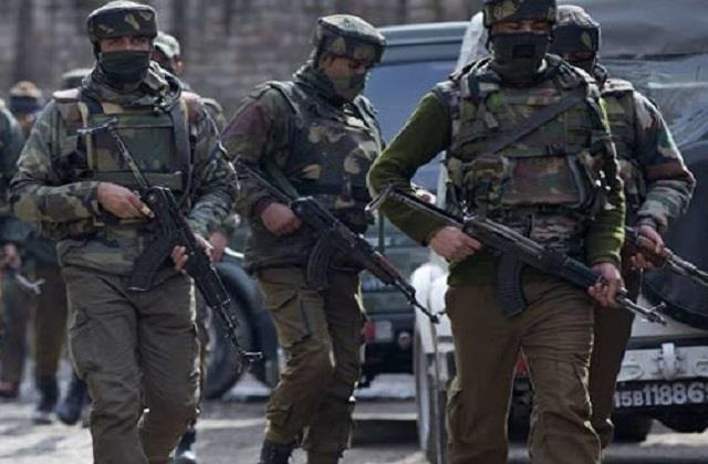 army insisting on surrender of terrorists during encounter