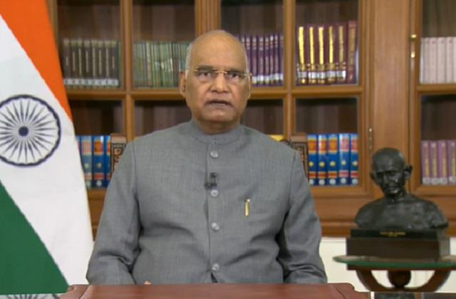 president kovind mentioned the new agricultural laws