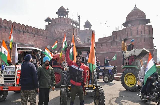 united kisan morcha withdraws tractor rally said peace movement will continue