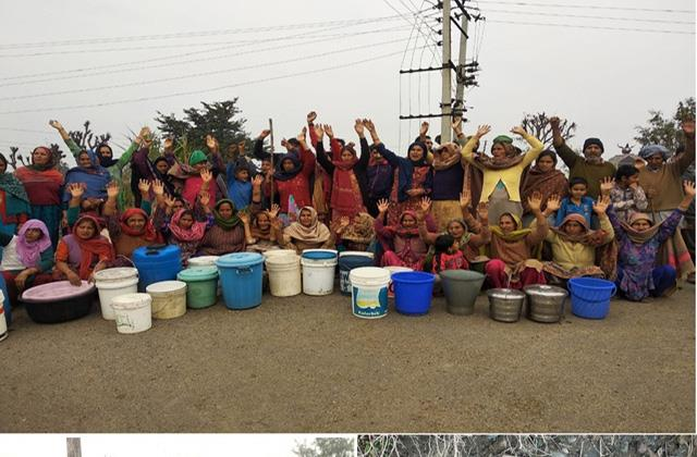 water scarcity in kathhua
