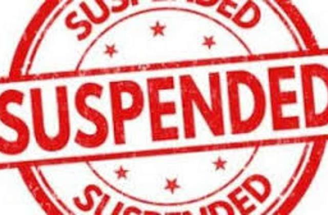 illegal construction on disputed land tehsildar suspended