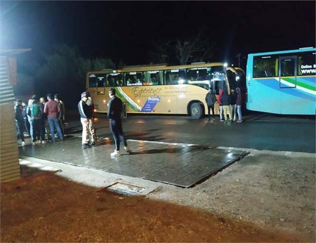 swarghat volvo bus fines