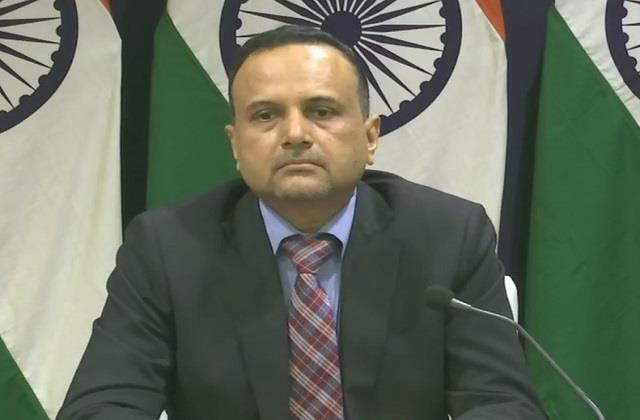 india is in touch with china to replace stranded crew mea