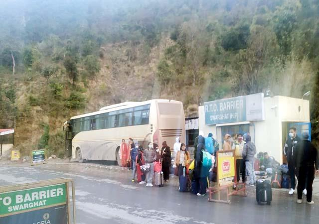 transport department recovered fine from 17 private volvo buses