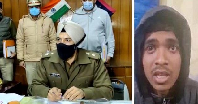 sp made sensational disclosure about suspect caught on singhu border