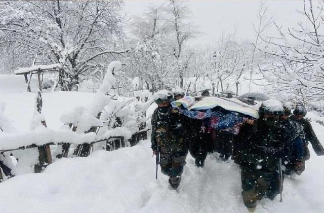 army soldiers in kupwara became angels