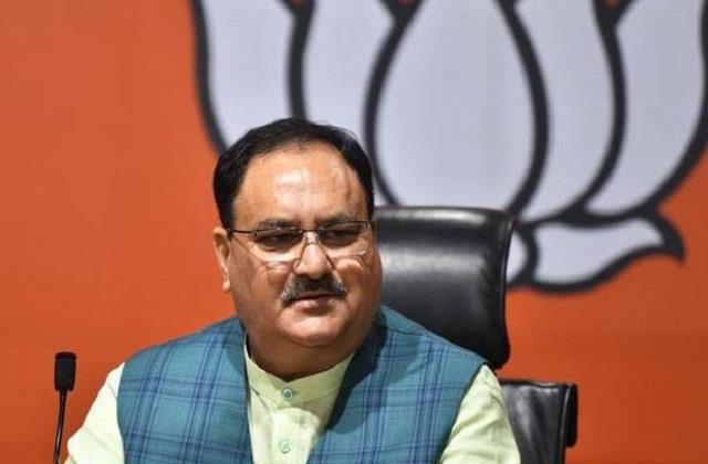 bjp president jp nadda to visit ahmedabad today