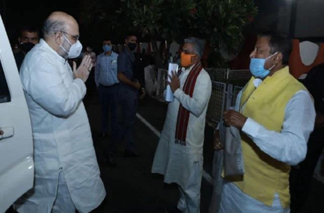 home minister amit shah canceled two day west bengal tour