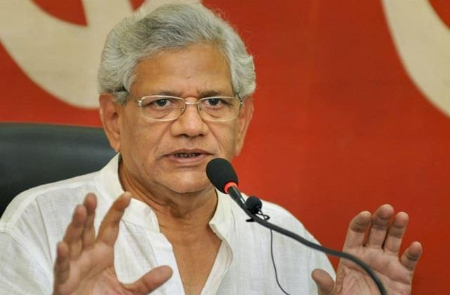 government s assurance to keep new agricultural laws postponed yechury