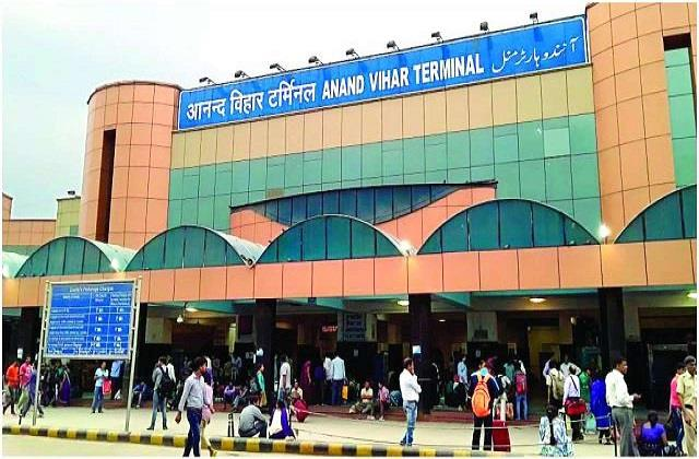 anand vihar bus station to remain closed