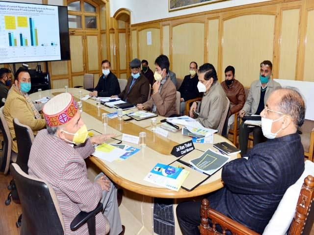 cm meeting with excise and taxation department
