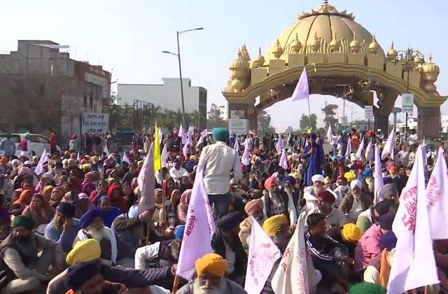 farmers   chakka jam done peacefully   now both sides come forward for talks