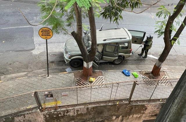 jaish ul hind explosives outside ambani house