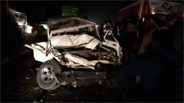 family car returning from marriage uncontrolled 9 seriously injured
