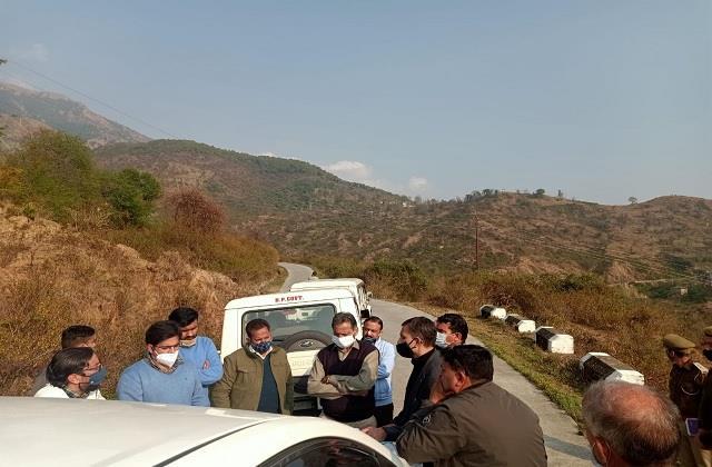 2 member central team visited dharamshala and dehra