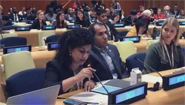 india slams pak for misusing international platforms for baseless propaganda