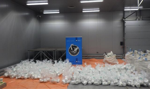 1 5 tonne heroin from pakistan seized at rotterdam port report