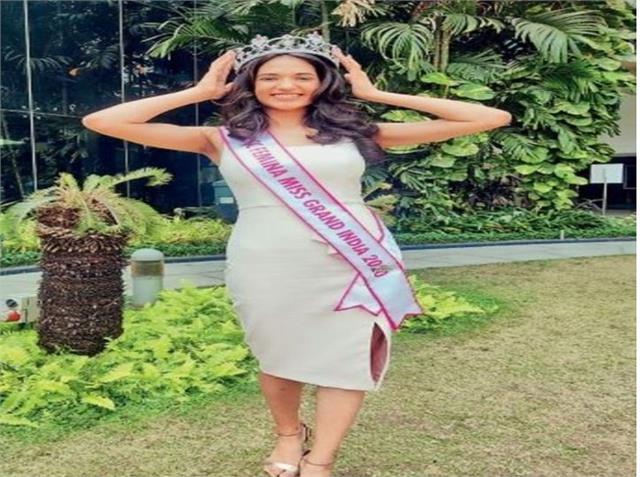 monica shyokand of uchana kalan selected miss india