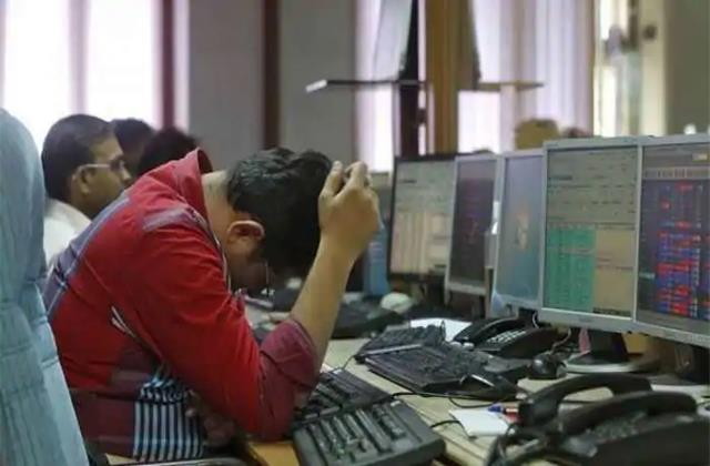 market opens with decline down 157 points