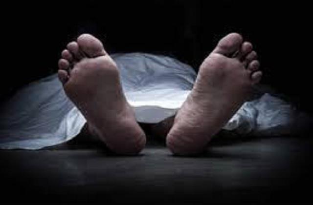 dead body found in sansarpur terrace