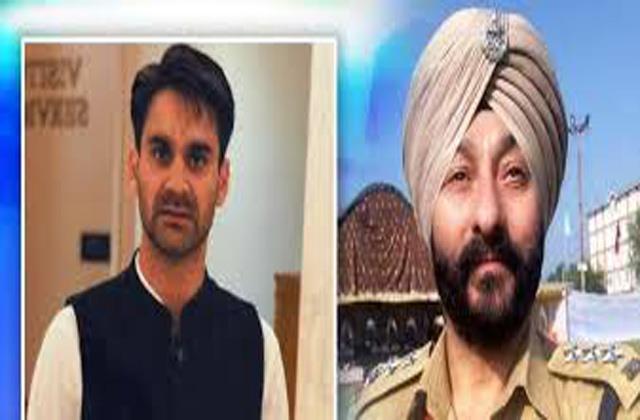 para case police will take custody of davinder singh and hizb terrorist naveed
