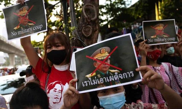 us to stand with myanmar for peace and democracy blinken