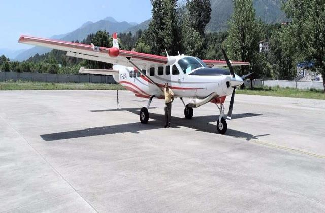 19 seater dornier aircraft to fly from bhuntar to delhi