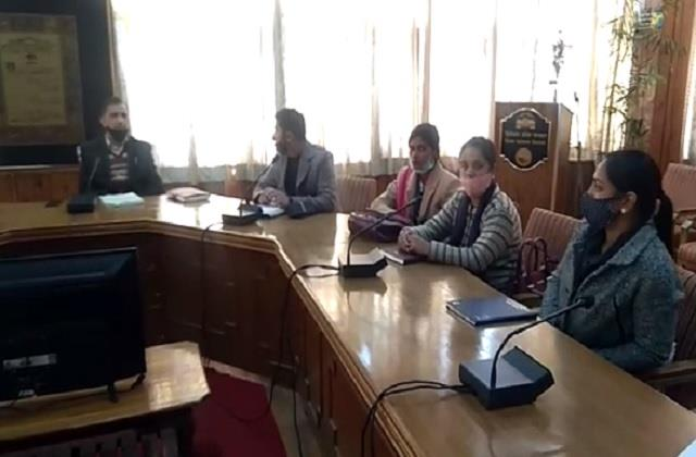 public representatives reached shimla training will be done on 24th