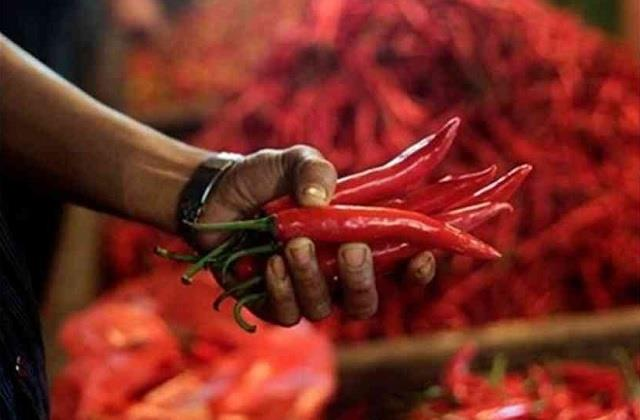 audacity a young man entered a woman s house with red chili in his hand