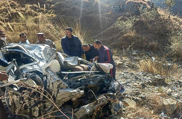 road accident in mandi three delhiites died