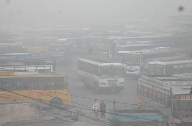 himachal s buses reached punjabn did not get passengers as expected