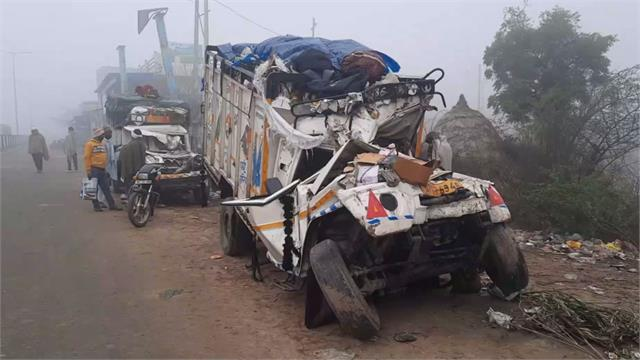 major accident on highway for second time