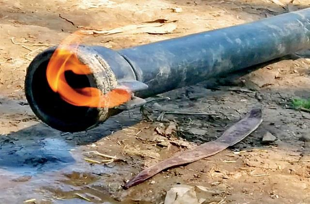 ongc found methane gas in 24 villages at mp