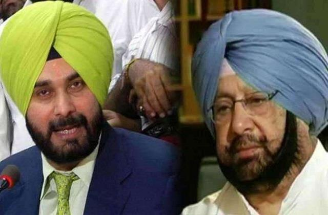 navjot sidhu missing from captain amarinder singh s launch