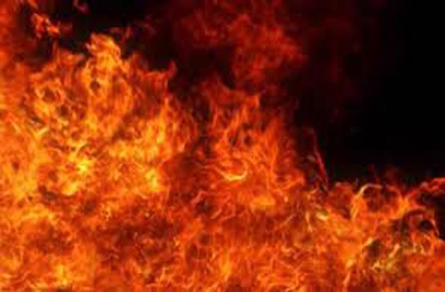 fire gutted 6 shops in poonch