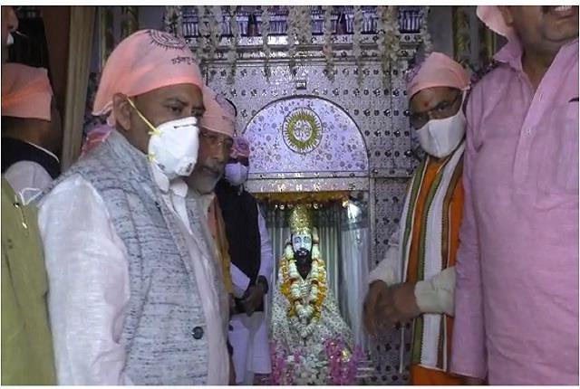 many vip leaders visited the 644th prakash parv of guru ravidas