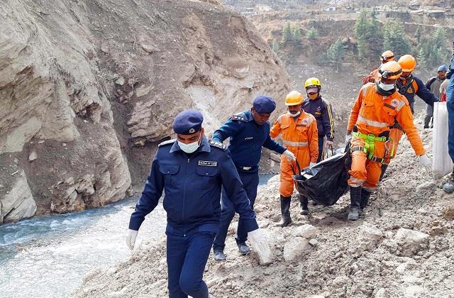 61 dead bodies found in tapoven tunnel