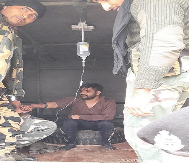 indian smuggler arrested in bsf firing