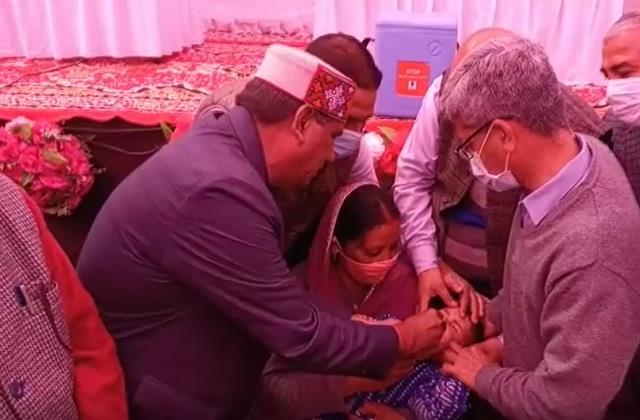 polio medicine given to children target of 44 thousand children in districts