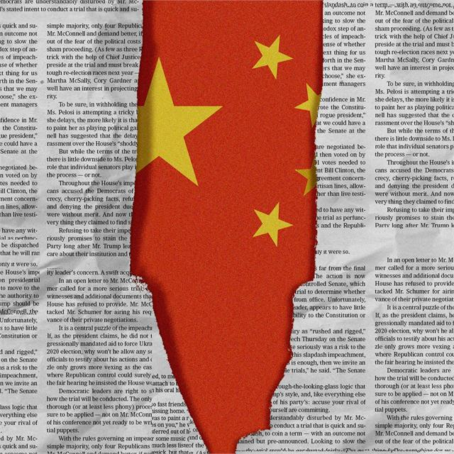 no chinese media outlet truly independent of ccp report
