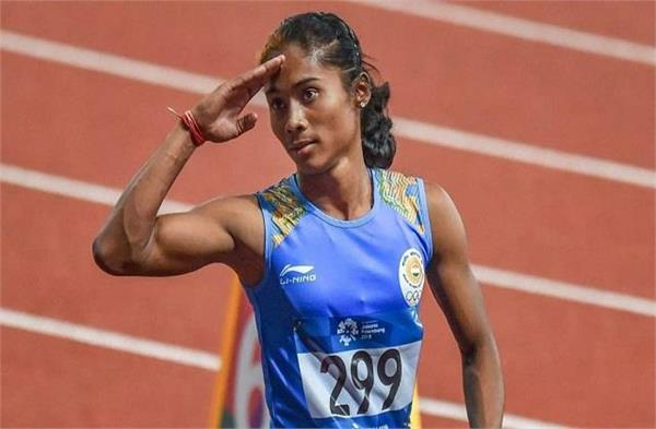 dhing express hima das becomes dsp of assam