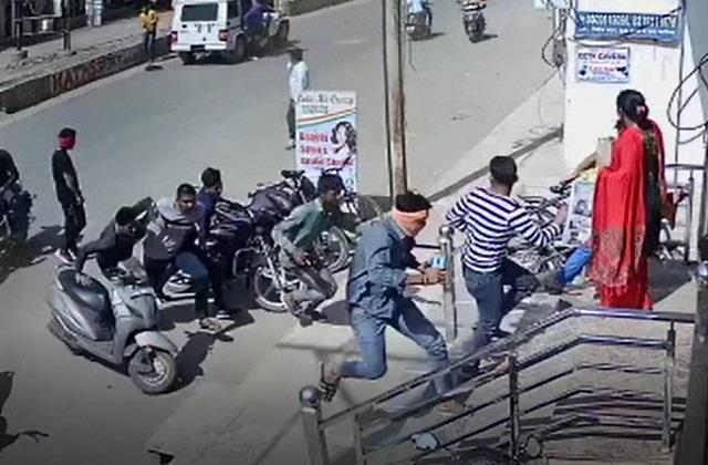 cctv footage of firing in gwalior