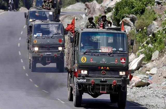 ladakh border dispute india china