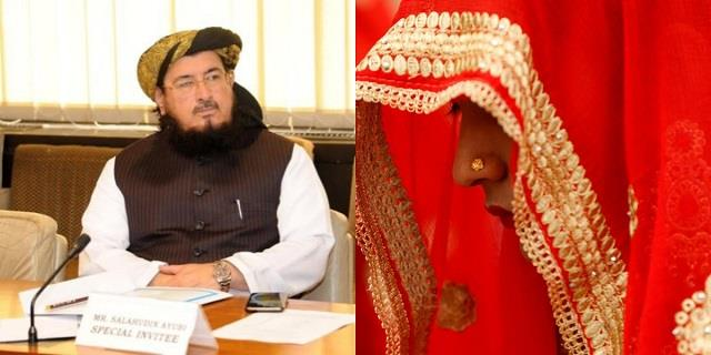 pakistan mp 62 maulana salahuddin ayubi marries 14 year old girl