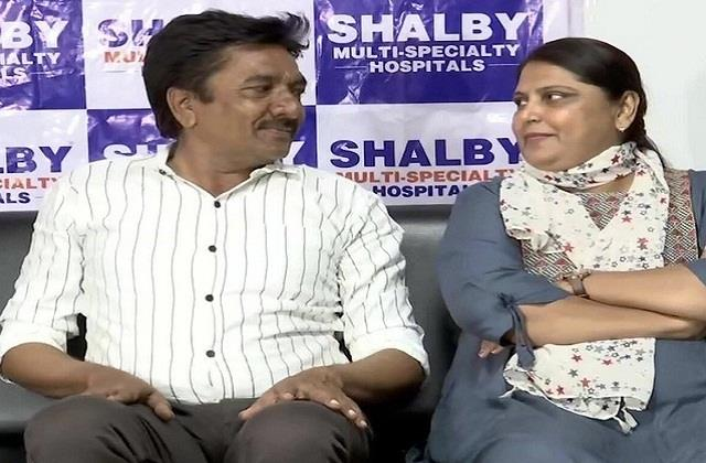 husband gifted kidney to his wife on valentine s day