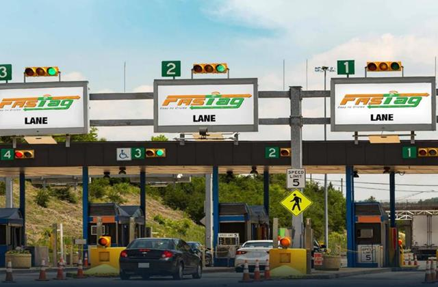 record toll collection through fastag accumulating rs 104 crores daily