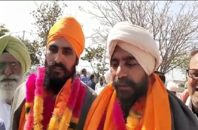 2 farmers arrested in agitation released from tihar jail