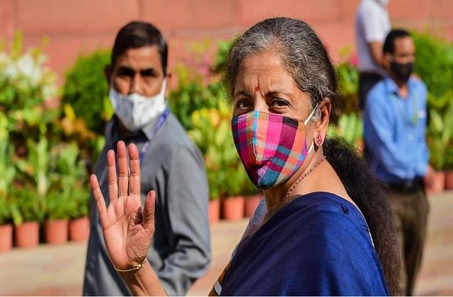 i have never had a dream nirmala sitharaman