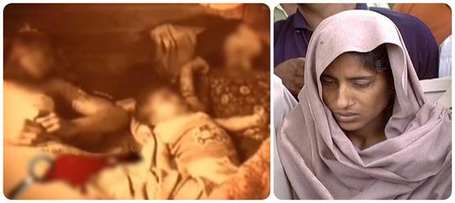 shabnam was crying among the 7 dead bodies of the family